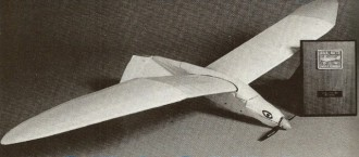 Electric Seagull model airplane plan