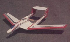Eliminator model airplane plan