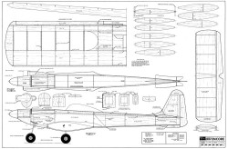 Encore model airplane plan
