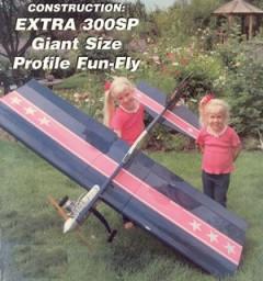 Extra 300SP model airplane plan