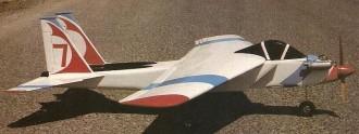 F-15 Eagle model airplane plan