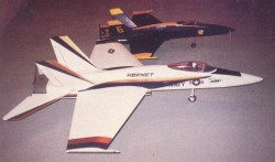 FA-18 Hornet model airplane plan