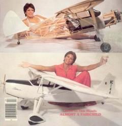 Fairchild F-24-H model airplane plan