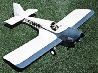 Fairey Junior model airplane plan