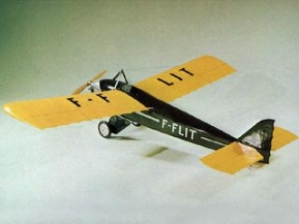 Farman F.451 Moustique model airplane plan