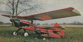 Firebird II model airplane plan