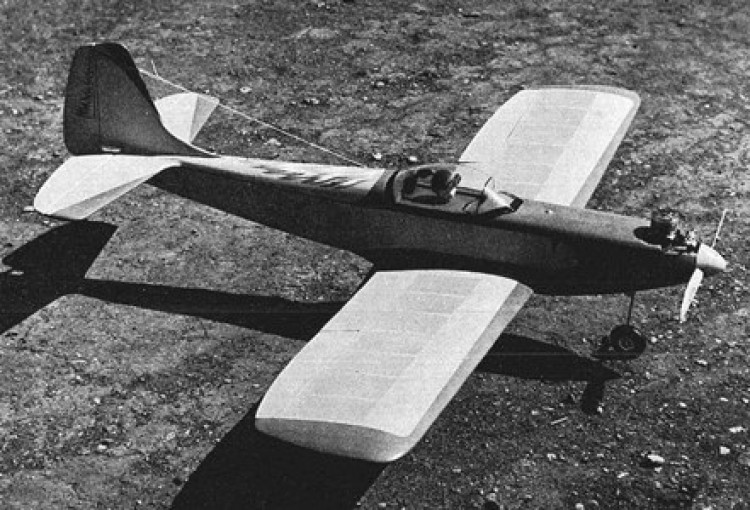 Firefly model airplane plan
