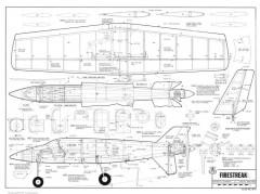 Firestreak model airplane plan