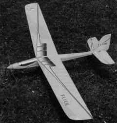 Flick model airplane plan