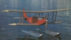 Floats Golden Oldie model airplane plan