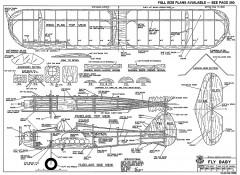 Fly Baby-RCM-10-88 1028 model airplane plan