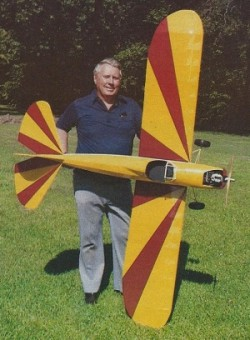 Fly Baby model airplane plan