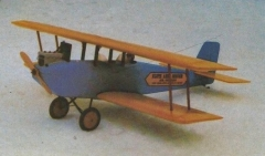 Flyin Flivver model airplane plan