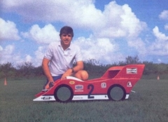 Flying Porsche model airplane plan