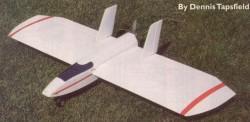 Flying Wing model airplane plan