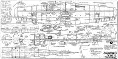 Focke-Wulf Fw-190 D-9 model airplane plan