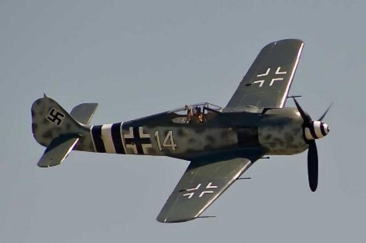 Focke Wulf 190 model airplane plan