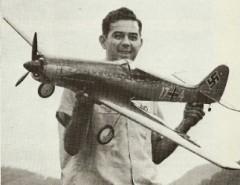 Focke Wulf TA-152H1 model airplane plan