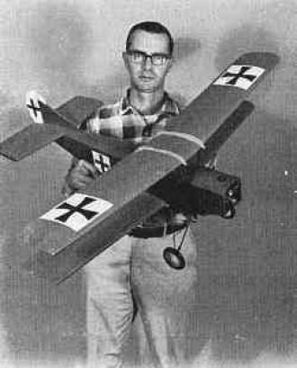 Fokker model airplane plan