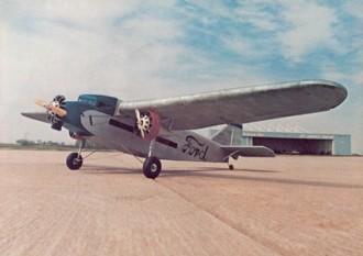 Ford Trimotor Tin Goose model airplane plan