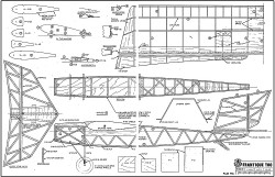 Frantique Too Plan 456 model airplane plan