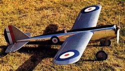 Frog Interceptor Mk 4X model airplane plan