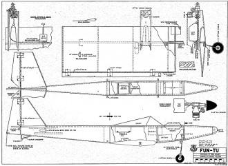 Fun-Tu model airplane plan