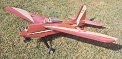 Fun Flyer Super Sport model airplane plan