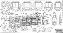 Gee Bee R-2 model airplane plan