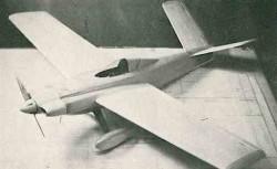 Gee Vizz model airplane plan