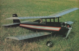 Gere Sport model airplane plan