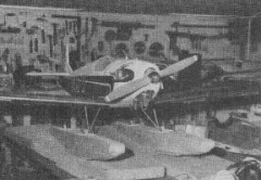 Giant Scale Floats model airplane plan
