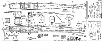 Giro V model airplane plan
