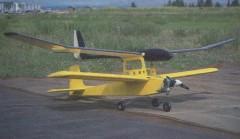 Glider Rider model airplane plan