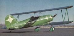 Green Hornet model airplane plan