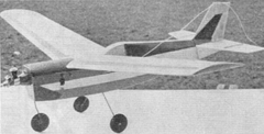 Griffin model airplane plan