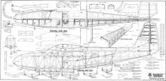 Grumman Widgeon 80in model airplane plan