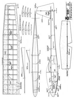 Gus model airplane plan