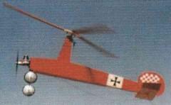 Gyro Shtick model airplane plan
