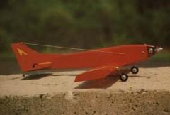 Half & Half model airplane plan