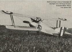 Hanriot Dupont H.D.I. model airplane plan
