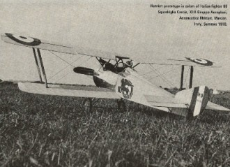 Hanriot Dupont H.D.I. model airplane plan
