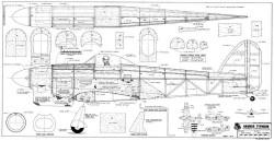 Hawker Typhoon model airplane plan