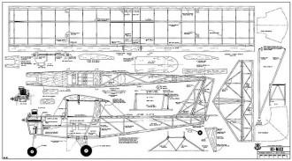 Hi-Max model airplane plan