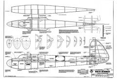 Hirth Minimoa model airplane plan