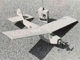 Honker model airplane plan