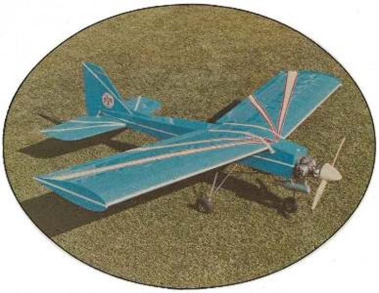 Hooker model airplane plan