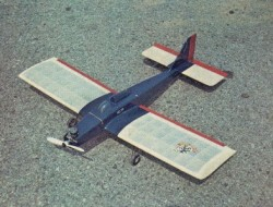 Hump & Bump model airplane plan