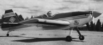 Imac One Design model airplane plan