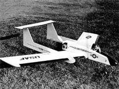 Invictus II model airplane plan